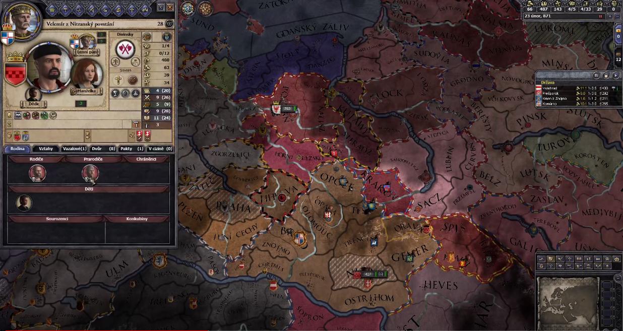 Crusader Kings - Velká Morava 2