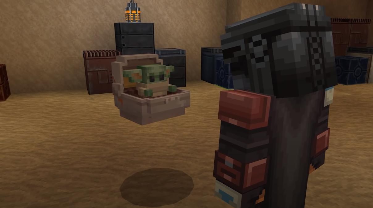 Mandalorian Minecraft
