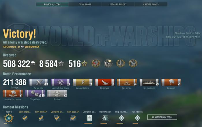 Bismarck World of Warships